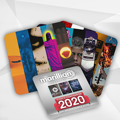 Marillion Couch Convention 2020 Coasters (Set Of 4)